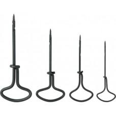 Буравчики, набор 4 шт. (2; 3; 4; 5 мм)