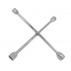 Ключ торцевой баллонный крестообразный 17х19-21х22мм, (толщ. 13мм), Cr-V