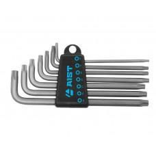 Набор ключей Г-обр. TORX 7 пр., длинные, (T10-T40), S2, в держателе