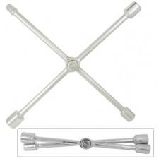 """Ключ торцевой баллонный крестообразный 17х19-21(мм)х1/2"""", складной, (толщ. 16мм), Cr-V"""