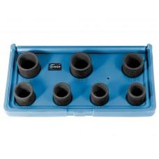 Набор эксктракторов наружных 7 пр., 17,18.5,20,21.5,23,24.5,26мм, для отворачивания секретных болтов автомобилей