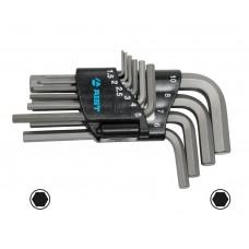 Набор ключей Г-обр. шестигран. 10 пр., стандартные, (Н1.5-Н10), S2, в держателе