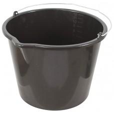 Ведро пластиковое для перемешивания раствора 12 л