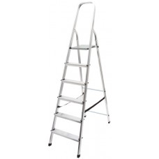 Лестница-стремянка алюминиевая, 6 ступеней, вес 4,62 кг