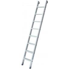 Лестница приставная алюминиевая, 9 ступеней, H=257 см, вес 3,03 кг
