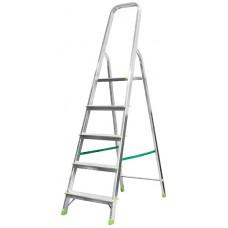 Лестница-стремянка алюминиевая, 5 ступеней, вес 4,0 кг