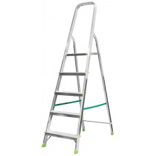 Лестница-стремянка алюминиевая, 6 ступеней, вес 4,5 кг
